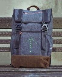 sac a dos ordinateur led