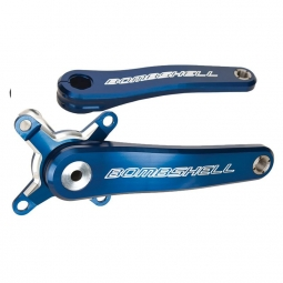 pedalier bombshell ratchet pro 165mm bleu 24 mm