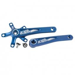 manivelles insight axe carre 160mm bleu carre