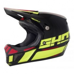 Image of Casque integral shot revolt jaune noir l 59 60 cm