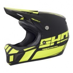 Casque integral shot revolt jaune noir kid m 51 52cm