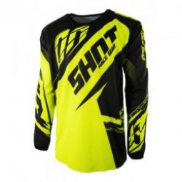 maillot shot devo kid fast neon yellow t 4 5 4 5 ans