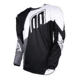 maillot shot devo alert black white t xl s