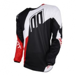 maillot shot devo alert red t xl xl