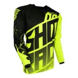 maillot shot devo venom neon yellow t 12 13 4 5 ans