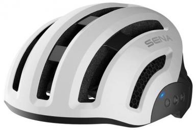 casque velo connecte sena x1 blanc l 59 62 cm