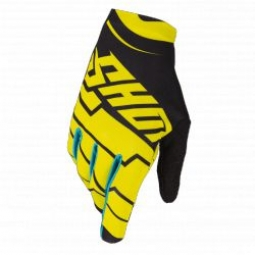 gants shot skin yellow s