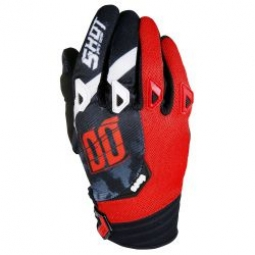 gants shot devo squad red t 11 xl
