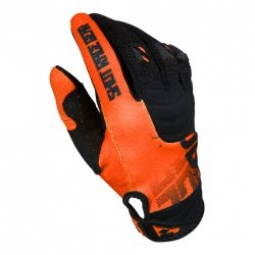 Image of Gants longs shot venom orange noir l