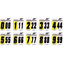 kit numeros de plaque forward noir 4 4