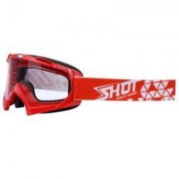 Masque SHOT VOLT Rouge Ecran Transparent