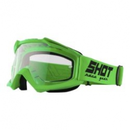 lunettes shot assault neon green unique