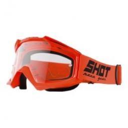 Masque SHOT ASSAULT Orange Ecran Transparent