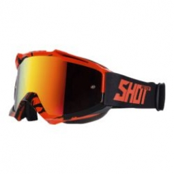 lunettes shot iris recall neon orange unique