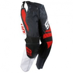 Image of Pantalon shot devo squad rouge blanc 30