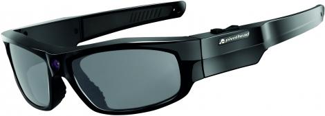 lunettes camera durango noir brillant