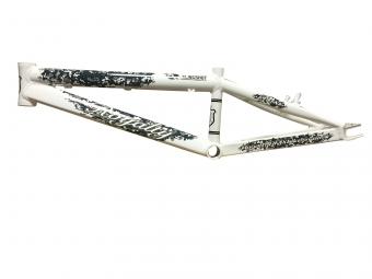 Cadre ROYALTY BMX Slingshot Blanc, Taille: Pro