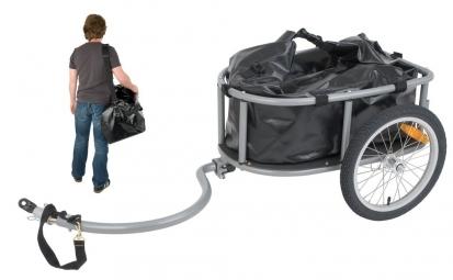 Remorque a bagages pour velo