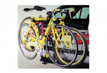 Porte 2 vélos sur boule attelage .