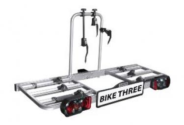 Porte-vélos 3 vélos sur attelage plateforme BIKE THREE - Eufab