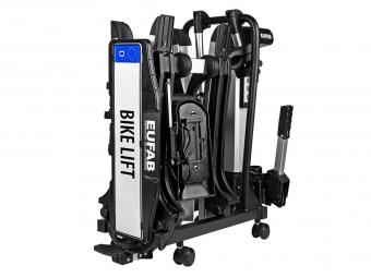 Porte-vélos pliable 2 vélos Eufab bike lift