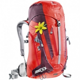 sac a dos deuter act trail 28 sl fire aubergine 28