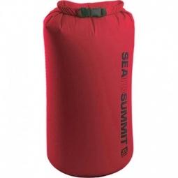 Sac etanche leger 20 litres sea to summit rouge