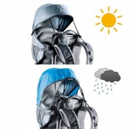 pare soleil et pare pluie pour porte bebe deuter non communique