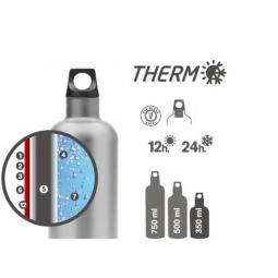 Gourde isotherme 0,75L Laken Futura Thermo inox
