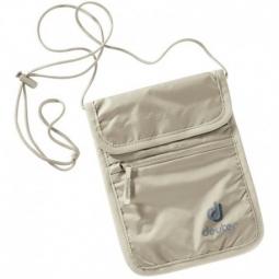 pochette tour de cou deuter security wallet 2 sable non communique