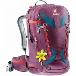 sac a dos deuter freerider pro 28 sl blackberry arctic 28