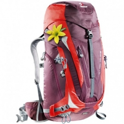 Sac a dos deuter act trail pro 38 sl aubergine fire