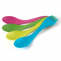 Lot de 4 spork original light my fire rose vert jaune bleu