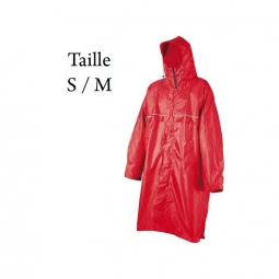 Poncho camp cagoule front zip taille s m