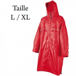 poncho camp cagoule front zip taille l xl