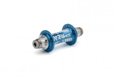 NS HUBS FRONT ROTARY 10 MM (32H) BLUE