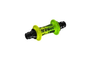 NS HUBS FRONT ROTARY 10 MM (36H) LEMON LIME