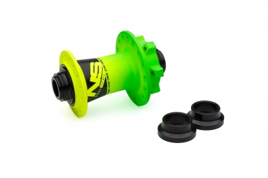 NS HUBS FRONT ROTARY 15/20 DISK(32H) LIME