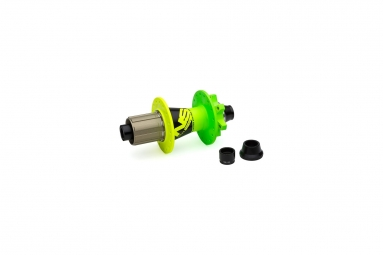 Ns hubs rear rotary cassette 135 142x12 32h lime
