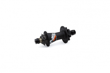 ns hubs rear rotary single speed 32h black