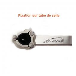 Porte-Bagage Plate-forme - fixation sur tube de selle .