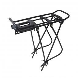 Porte bagage pour vélo alu noir mat 28 pouces
