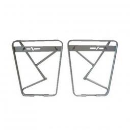 Porte-bagages avant sur fourche de vélo