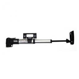 Mini pompe telescopique pour velo avec support