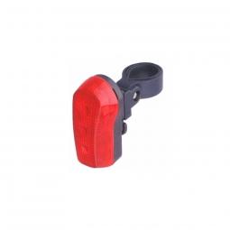 Eclairage de velo arriere avec lampe extra lumineuse