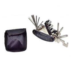 Kit de 17 outils pour vélo sacoche