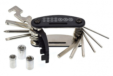 Kit de 17 outils pour vélo   sacoche .