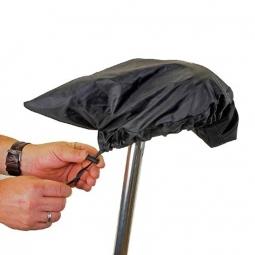 Couvre selle vélo protection pluie avec sacoche sur rail