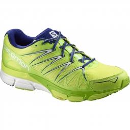 chaussures running salomon x scream foil geko green 42