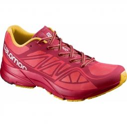 Chaussures running salomon sonic aero lotus pink 38 2 3